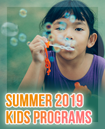 Kids Classes - Summer 2019