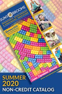 Continuing Education Catalog - Summer 2019