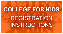College for Kids registration instructions (pdf)