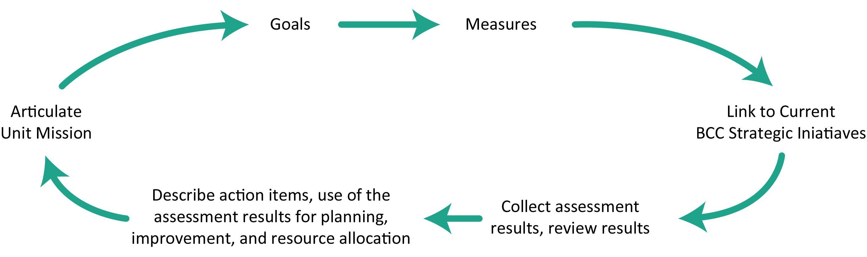 Flow diagram of the Unit Assessment Process