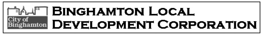 Binghamton Local Development Logo