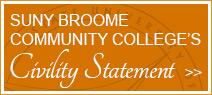 SUNY Broome's Civility Statement